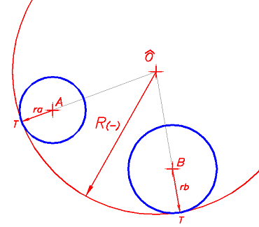 Arcos tangentes for Exterior tangente y secante